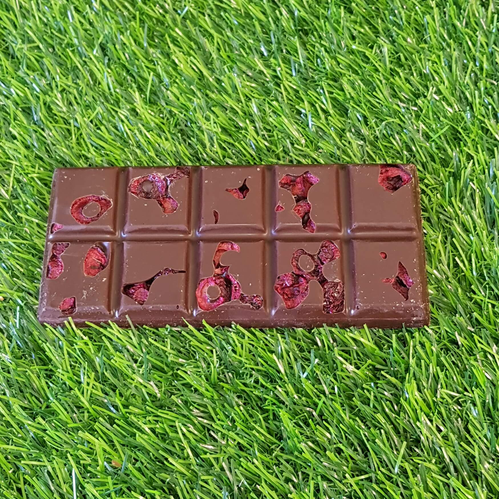 Sour Cherry And Dark Chocolate Bar